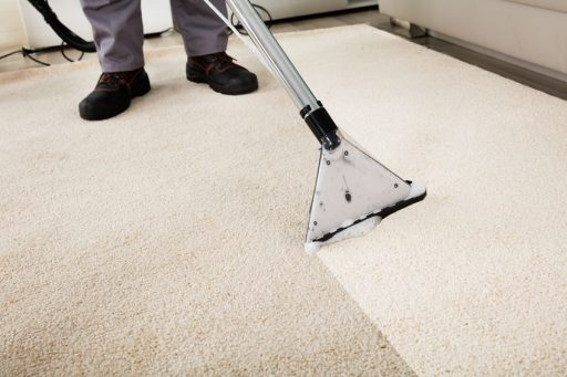 cleaning carpet of scabies